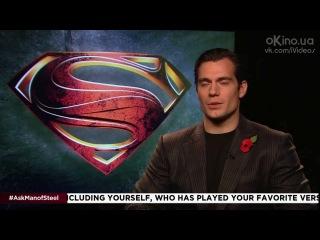 Бэтмен против Супермена / Batman vs. Superman.Интервью с Заком Снайдером и актёрами(Русский язык) [HD]